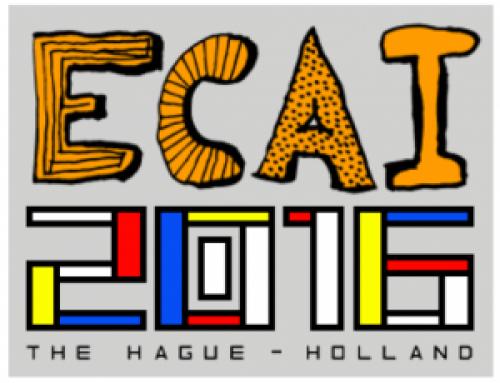 ECAI 2016 : Frank van Harmelen is the appointed General Chair