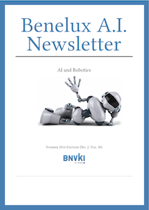 Benelux AI Newsletter Summer 2016