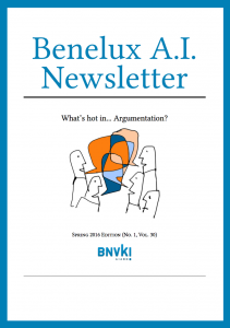 Benelux AI Newsletter Spring 2016